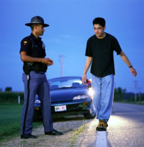 Failing a Delaware Field Sobriety Test