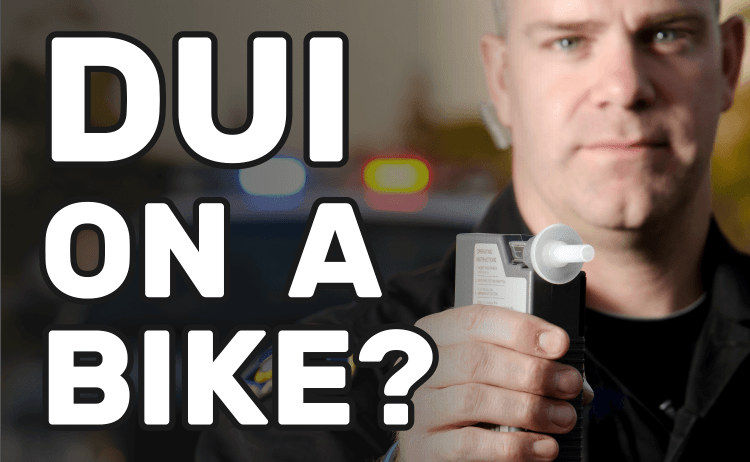 Can You Get a DUI on a Bike?
